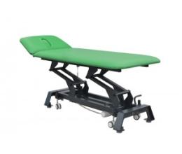 Stół rehabilitacyjny elektryczny 2-sekcyjny | 2-cz. z regulowanym zagłówkiem - SS-E01